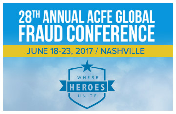 Go to fraudconference.com!